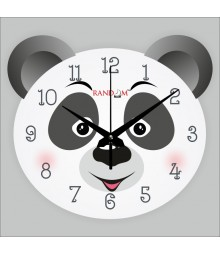 Panda Polymer Analog Wall Clock RC-0542