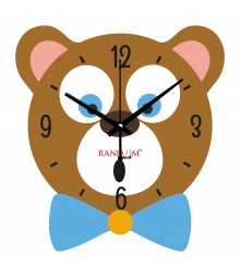 Micky Polymer Analog Wall Clock RC-0543