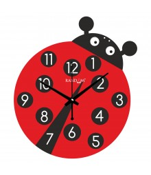 Lady Bug Polymer Analog Wall Clock RC-0544