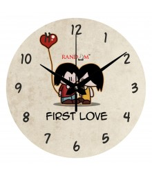 First Love Polymer Analog Wall Clock RC-0548