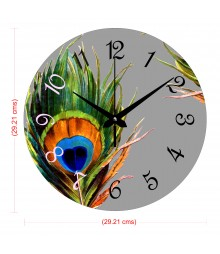 Morpankh Polymer Analog Wall Clock RC-0553