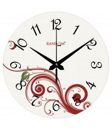Delight Curves Polymer Analog Wall Clock RC-0558