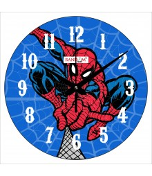 Spiderman Polymer Analog Wall Clock RC-0561