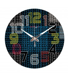Digital World Polymer Analog Wall Clock RC-0562