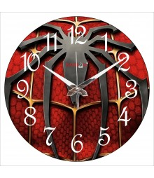 Red Spider Polymer Analog Wall Clock RC-0564