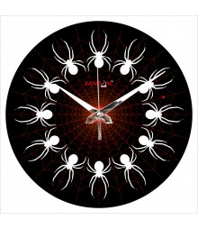 Spider Web Polymer Analog Wall Clock RC-0565