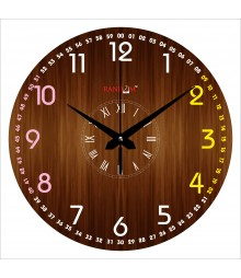 Numroman Polymer Analog Wall Clock RC-0568