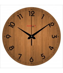 Simplicity Polymer Analog Wall Clock RC-0571