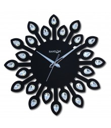 JEWEL LEAF Analog Wall Clock RC-0706-BLACK