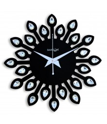 Jewel Leaf 12 Inches Analog Wall Clock RC-0709
