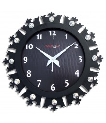 Crowny Glass covered Analog Wall Clock RC-0714