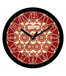 Colorful Wooden Designer Analog Wall Clock RC-2003
