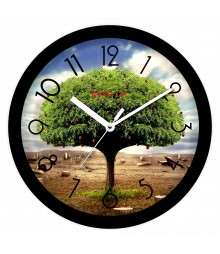 Colorful Wooden Designer Analog Wall Clock RC-2012