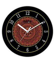 Colorful Wooden Designer Analog Wall Clock RC-2024