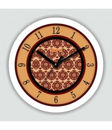 Colorful Wooden Designer Analog Wall Clock RC-2501