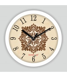 Colorful Wooden Designer Analog Wall Clock RC-2504