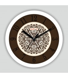 Colorful Wooden Designer Analog Wall Clock RC-2507
