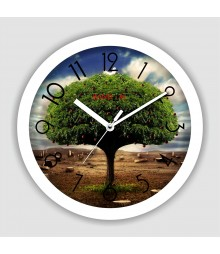 Colorful Wooden Designer Analog Wall Clock RC-2514
