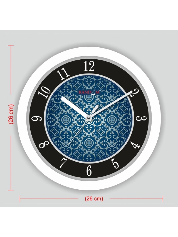 Colorful wooden designer analog wall clock rc 2517 for Designer kitchen wall clocks