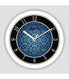 Colorful Wooden Designer Analog Wall Clock RC-2517