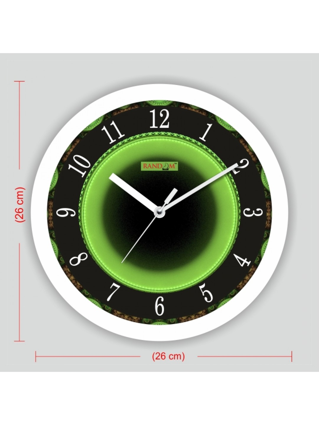 home kitchen wall decor clocks colorful wooden designer