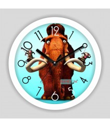 Colorful Wooden Designer Analog Wall Clock RC-2521