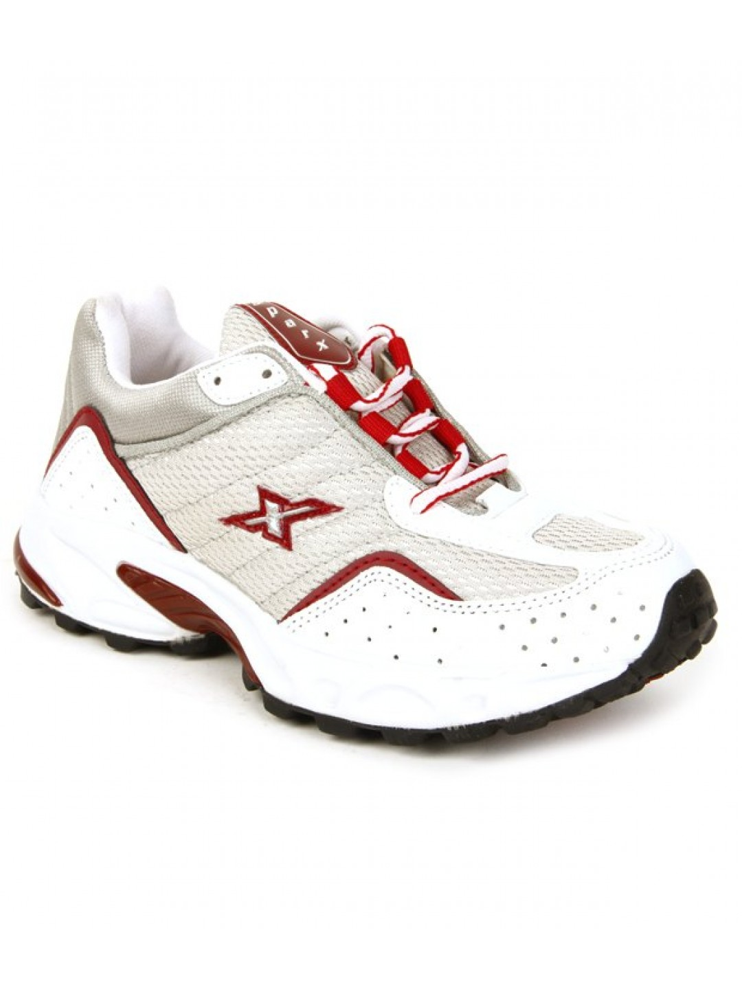 Silver \u0026 Red Running Shoes SM04-WSR