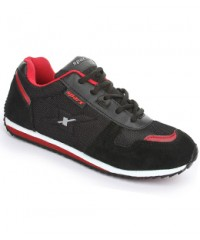 Sparx Superb Black & Red Men Sports Shoes SM119-BL-RD