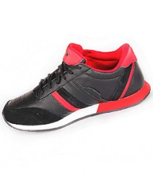 Sparx Men Black & Red Sports Shoes SM139-BL-RD