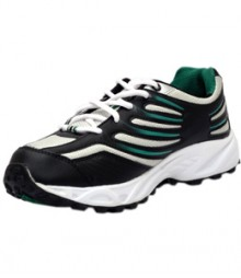 Sparx Men's Black & Green Running Shoes SM163-BL-GR