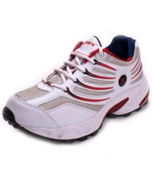 Sparx Men Red & White Sports Shoes SM163-RD-WH