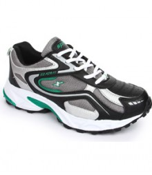 Sparx Men's Black - Grey & Green Sports Shoes SM171-BL-GR