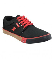Sparx Black & Red Men Casual Shoes SM175-BL-RD