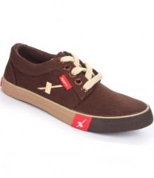 Sparx Dark Brown Men Casual Shoes SM175-BR