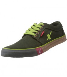 Sparx Men's Olive Green Canvas Sneakers SM175-OLG