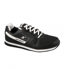 Men Sparx Black & White Shoes SM176-BW