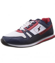 Sparx Navy Blue & Red Men Sports Shoes SM176-NB-R