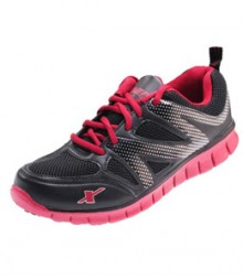 SPARX Black & Red Running Shoes SM178-BL-RD