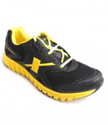 Sparx Sport Shoes for Men in Black Yellow Color SM185 BY