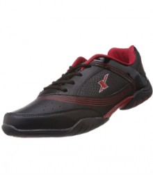 Sparx Men's Black & Red Running Shoes SM186-BL-R