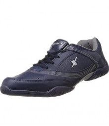 Sparx Men's Navy Blue & White Running Shoes SM186-N.BW