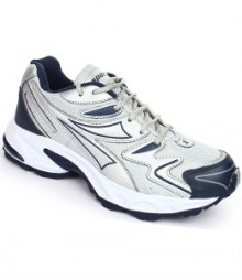 SPARX Blue & Silver Running Shoes  SM20-NB-SL