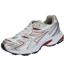 Sparx Silver & Red Men Sports Shoes SM20-SWR