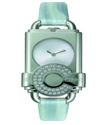 Cerruti Women White Dial Color Analog Watch - CT-195