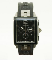 Cerruti Mens Black Dial Color Chrono Watch - CT-323