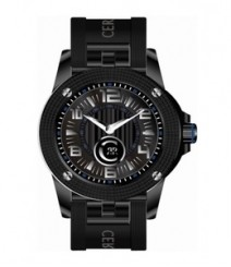 Cerruti Mens Black Dial Color Analog Watch - CT-534