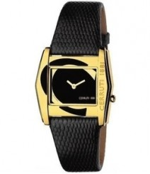 Cerruti Women Black Dial Color Analog Watch - CT-538