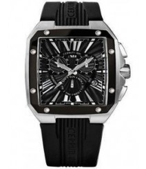 Cerruti Mens Black Dial Color Analog Watch - CT-544