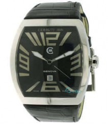 Cerruti Mens Black Dial Color Analog Watch - CT-548