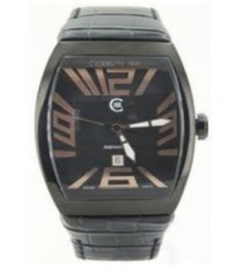 Cerruti Mens Black Dial Color Analog Watch - CT-550